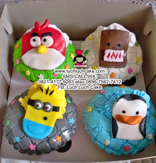 Cupcake Animal Daerah Surabaya - Sidoarjo