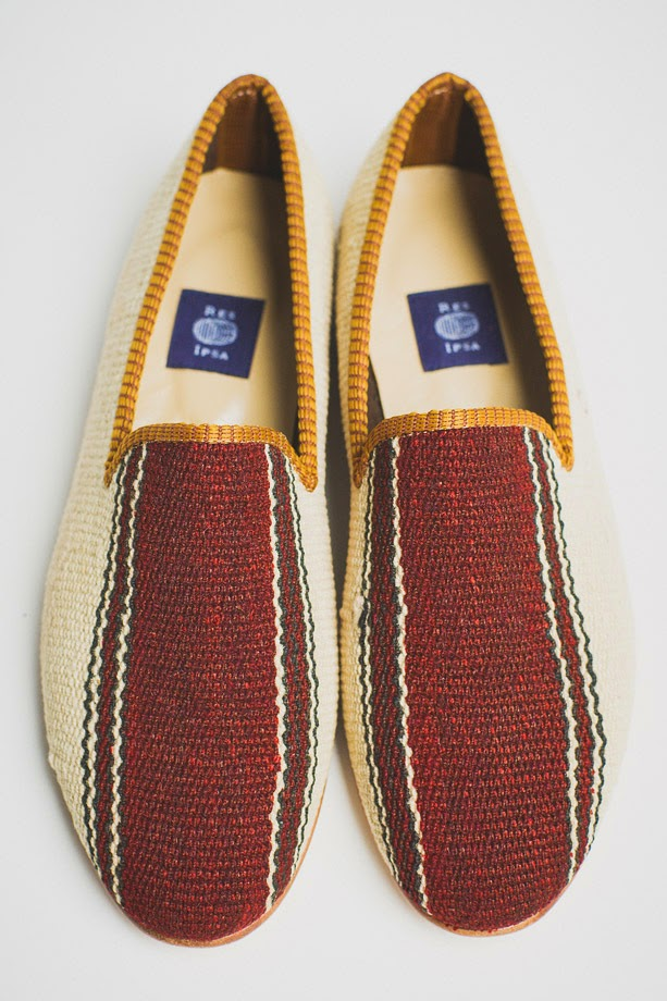 RES IPSA Wool Loafers