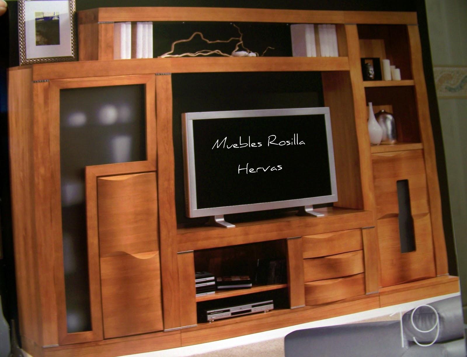 Muebles color nogal for Muebles hervas