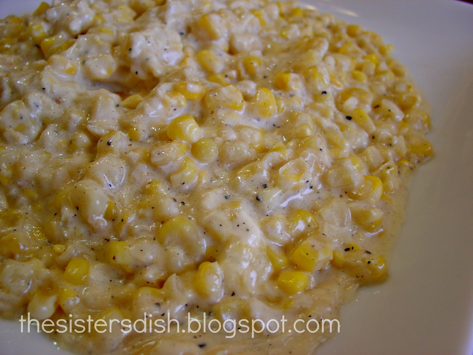 The Sisters Dish: Ruby's Creamed Corn