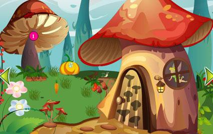 Tinkerbell Mushroom Escape