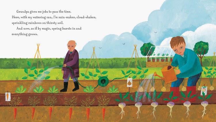 Grandpa's Garden - Barefoot Books Review