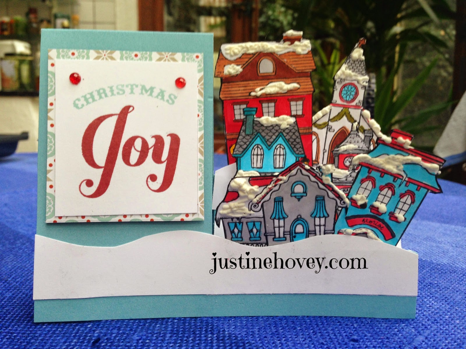 Justine\'s Cardmaking: 12 Days of Christmas Cards Video Series Day 4 ...