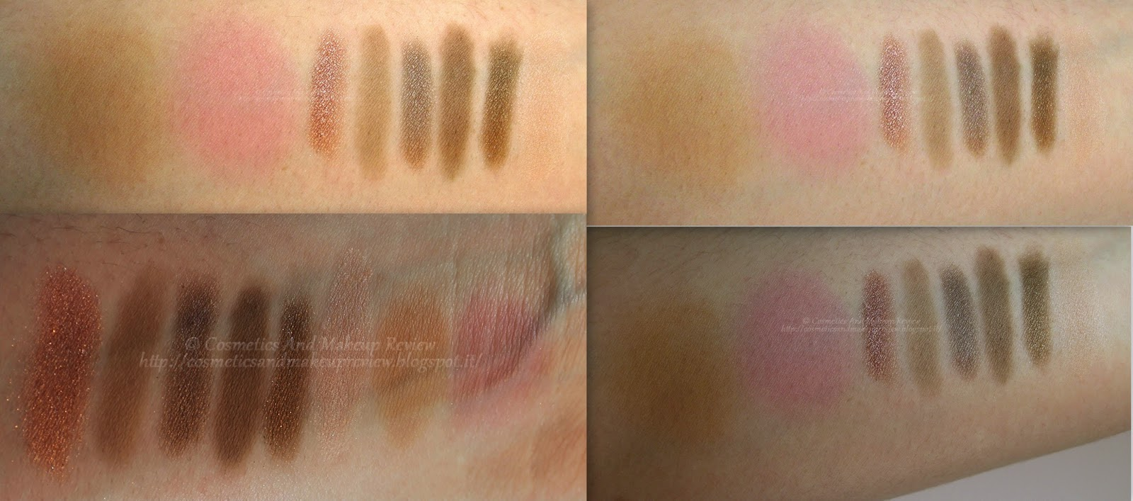 Urban Decay - Naked On The Run Palette - Bronzer Blush Dive Fix Resist Dare Stun 5050