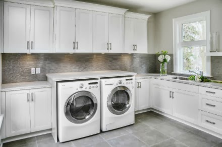 Laundry Room Cabinets Do Not Have To Be Large And Bulky Adding Laundry Room Cabinets Can Improve The Look And Function Of Your Laundry Room