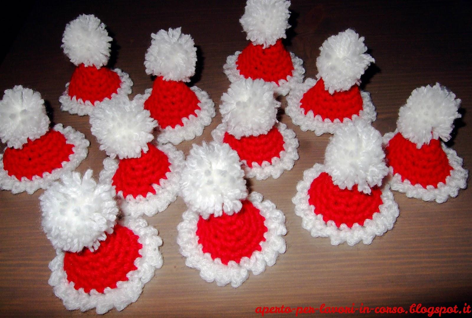Il blog di laura cappellini di babbo natale all 39 uncinetto for Lavori natalizi uncinetto