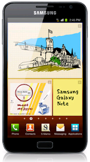 FREE Samsung GALAXY Note with Minimum Monthly Plans Starting at $33 on Carphone Warehouse