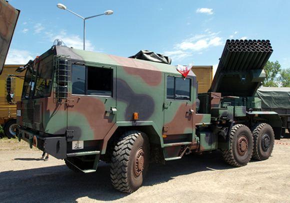 Langusta WR-40, MLRS Polandia