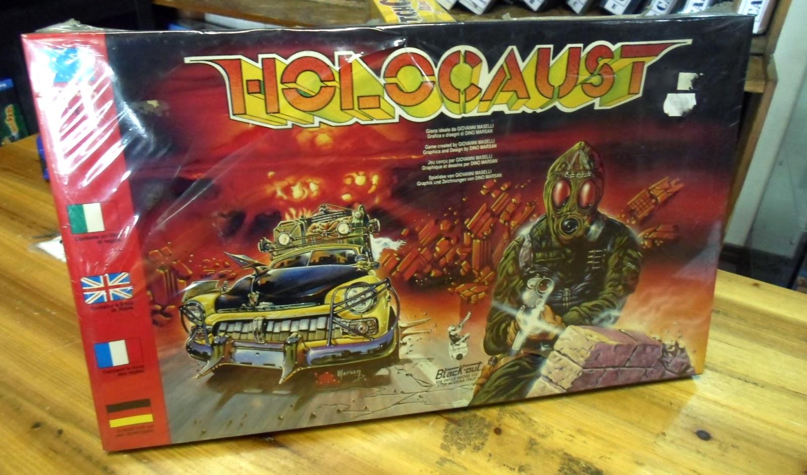 Holocaust il gioco da tavolo di figli dell 39 olocausto dungeon master magazine - Dungeon gioco da tavolo ...