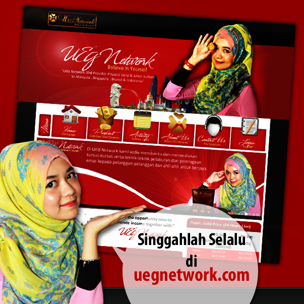 UEG Network, Website UEG Network, Jual Beli Emas