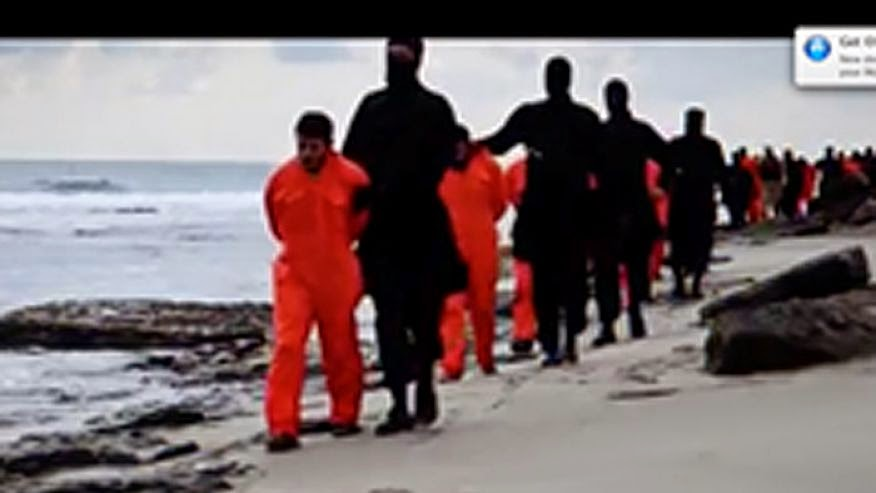 http://www.foxnews.com/world/2015/02/21/isis-army-7-footers-experts-say-video-copt-beheadings-manipulated/