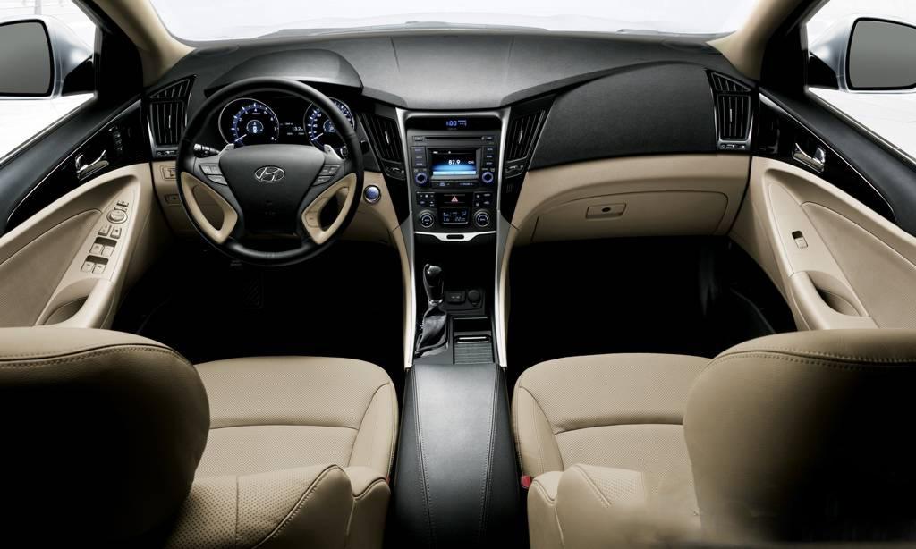 car on Hyundai Sonata 2014