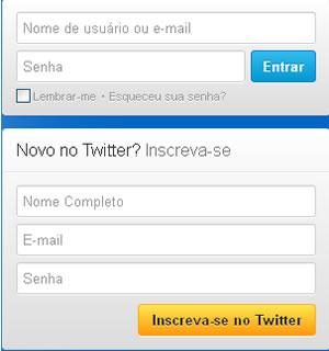 tutorial criar conta no twitter