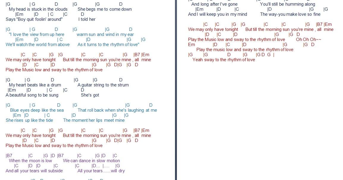 TalkingChord.com: Plain White T\'s - Rhythm of Love (Cover + Chords)