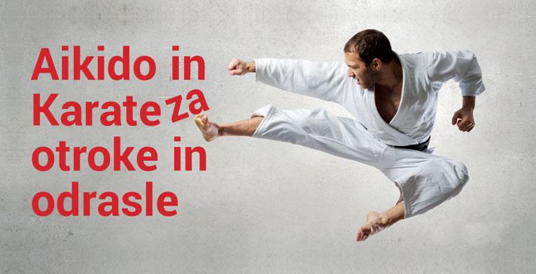 Aikido in Karate Dojo Ljubljana