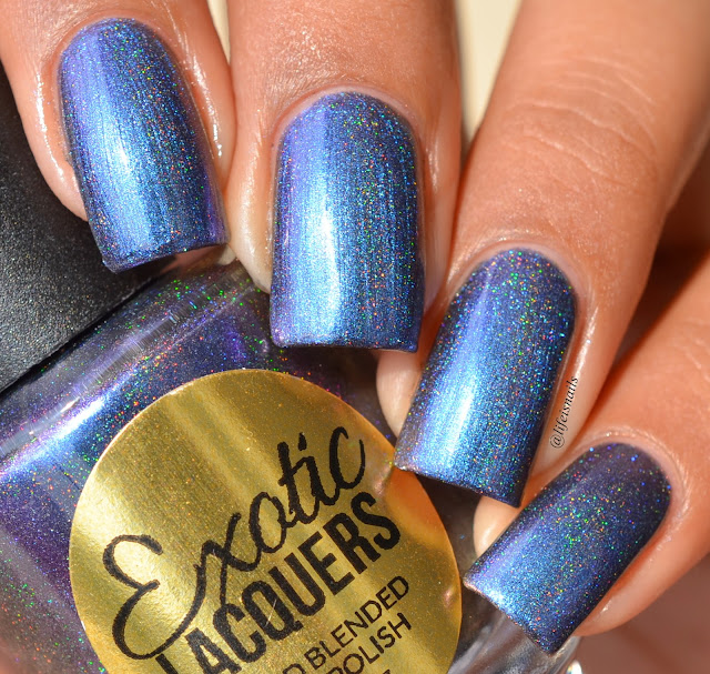 Exotic Lacquers Purple Hazed