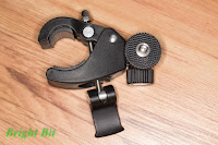 Bicycle Handlebar Mount Holder, opened view