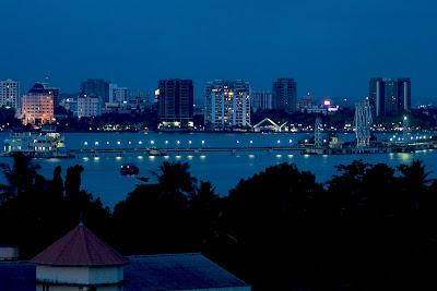 Kochi City at Night