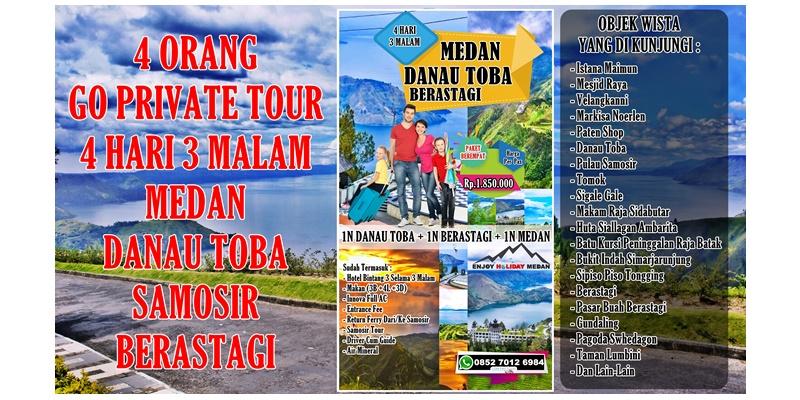 Paket Wisata Medan Danau Toba 4 Hari 3 Malam