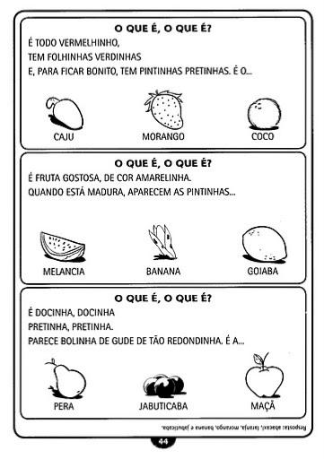 atividades alfabetizacao jardim horta pomarAtividade Infantil 122