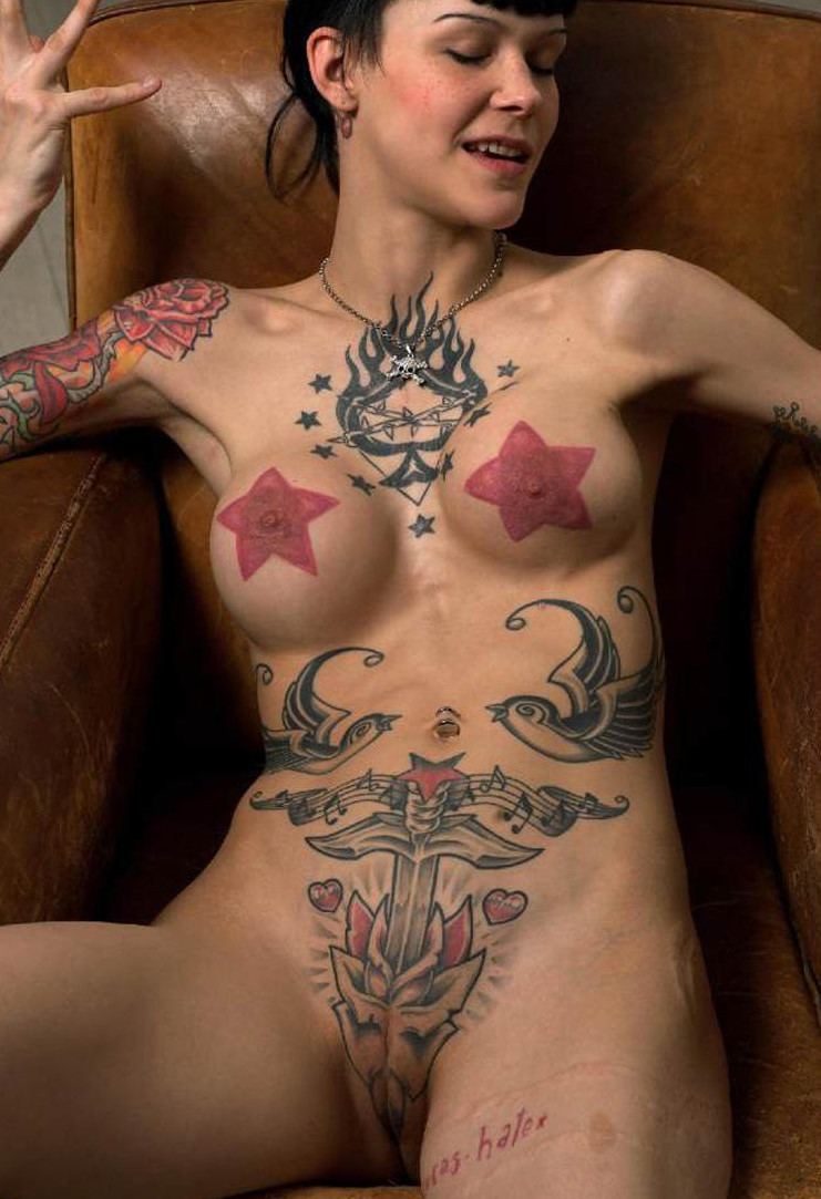 women with tatoos on their pussy