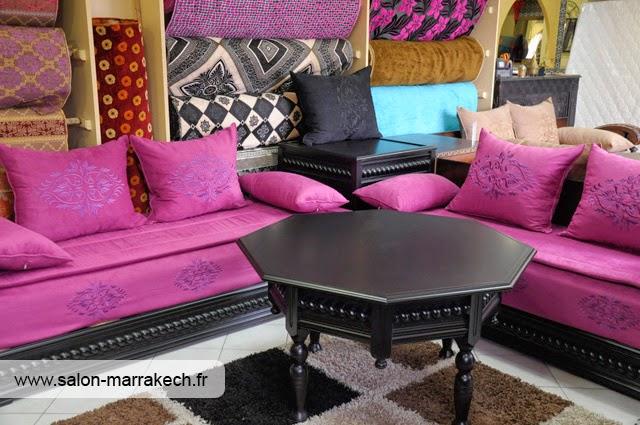d coration de salon marocain salon marocain contemporain. Black Bedroom Furniture Sets. Home Design Ideas
