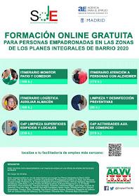 La FRAVM ofrece seis cursos de formación para personas desempleadas de las zonas PIBAs