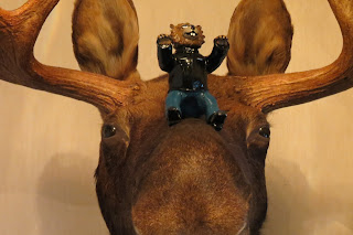 Rita rides the Moose!