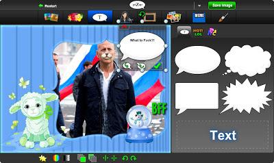 добавление текста и надписей в бесплатном онлайн фото редакторе piZap для новичков