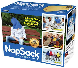 NapSack Box :: Super Crappy White Elephant Gifts 2015