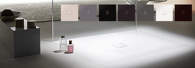 conoflat shower tray designitives. Black Bedroom Furniture Sets. Home Design Ideas