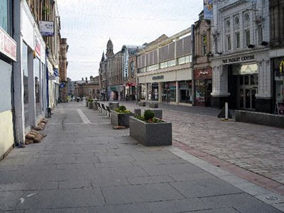 The deadzone that is Paisley town centre