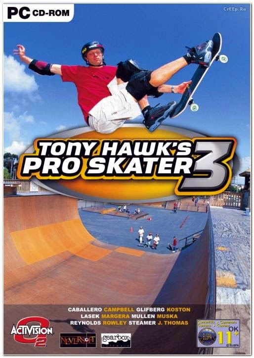 Tony Hawk Pro Skater 3 PC Game