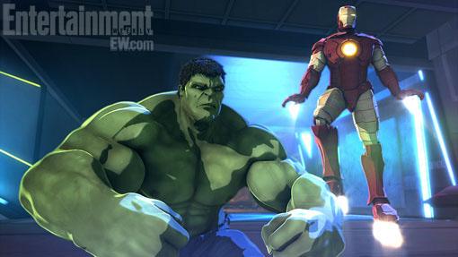 ... Iron Man dalam bentuk film animasi 3D berjudul Iron Man & Hulk: Heroes