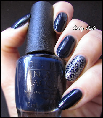 dark blue opi swatch