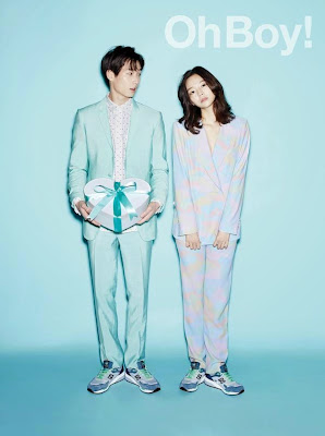 Lee Som and Ice - Oh Boy! Magazine Vol.55