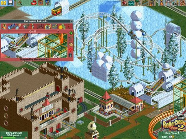 RollerCoaster Tycoon 2 PC Games Gameplay