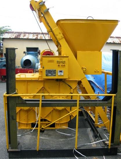 Hình ảnh máy trộn bê tông Hoa Phong JS500