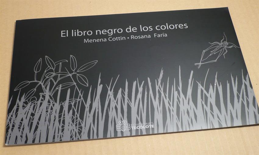 El álbum ilustrado: El libro negro de los colores