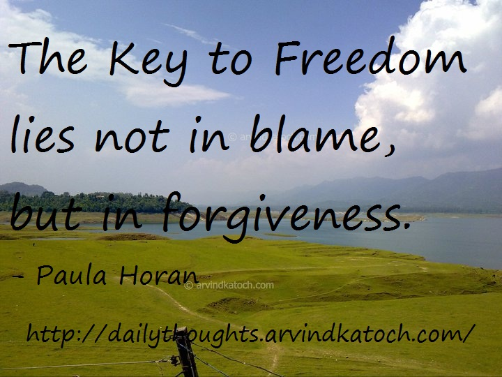 Thought Of Day Picture Message On Freedom Forgiveness Best Daily Thoughts With Meanings