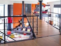 loft moderno y acogedor