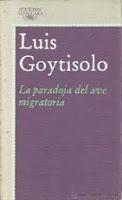 La paradoja del ave migratoria - L. Goytisolo