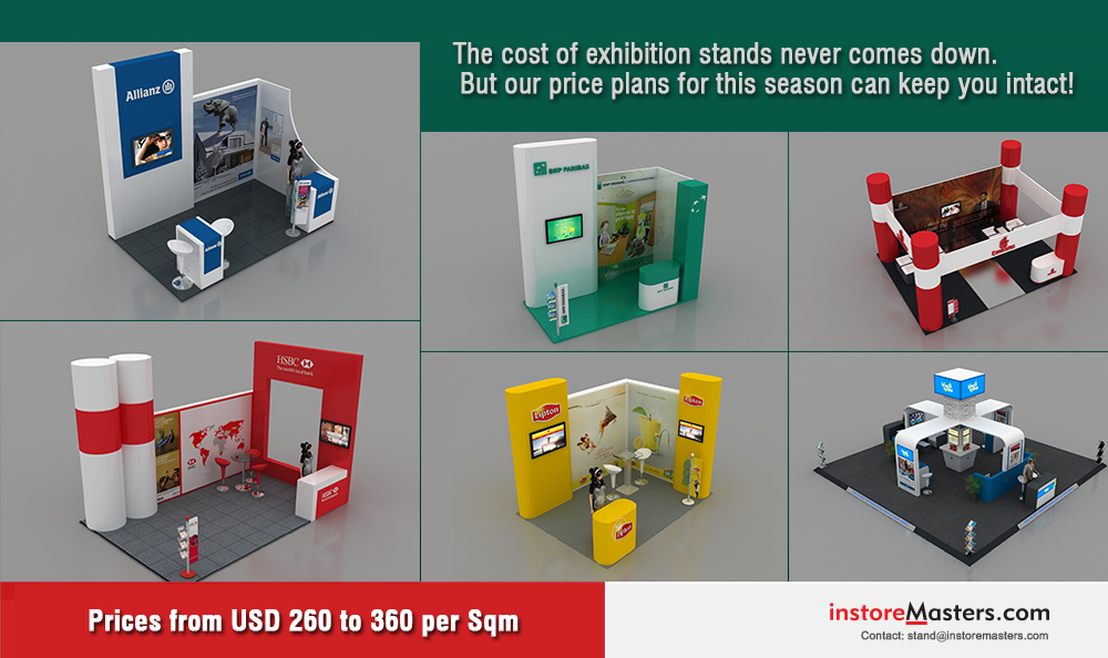 Modular Exhibition Stands Dubai : Exhibitions stands