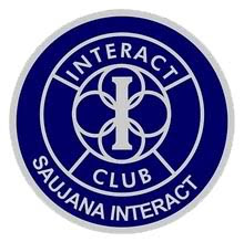 the Saujana Interact Club Logo