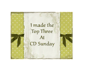 I madeTop three at C D Sunday challenge blog