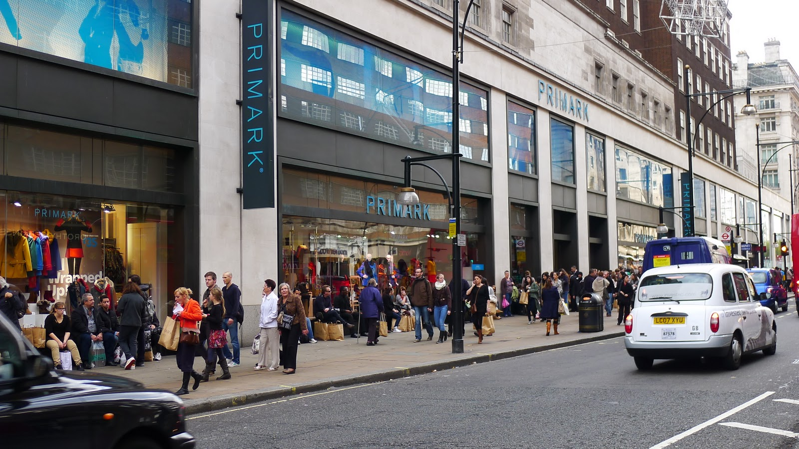Primark clothing store