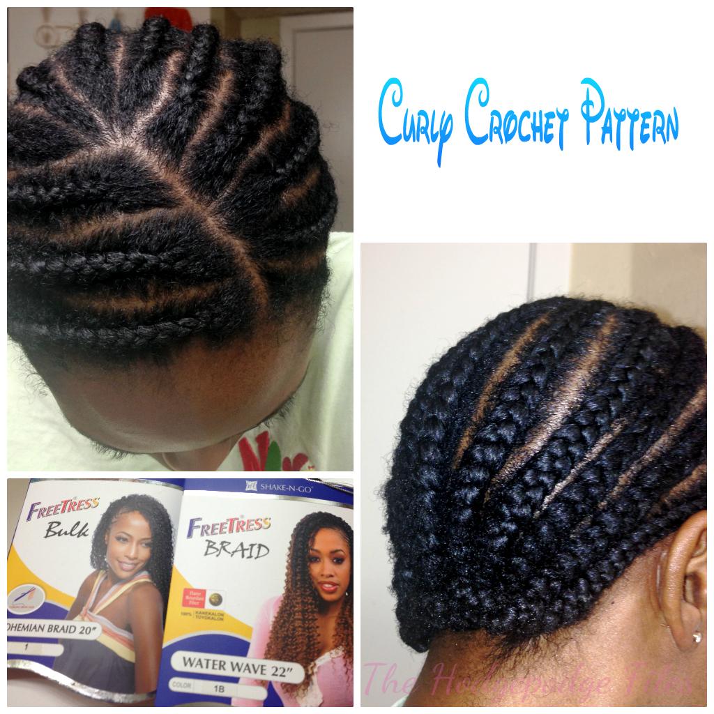 Crochet Braids Frizzy : Curly Crochet Braids with Freetress Bohemian/Waterwave Hair