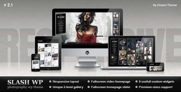 Premium Responsive Photography WP Template