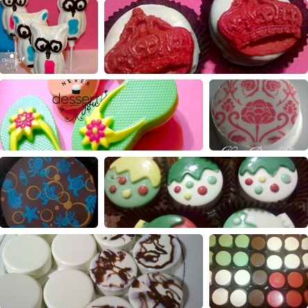 custom chocolate, chocolate covered oreos, chocolate disks, chocolate monogram, chocolate graham crackers, chocolate logo