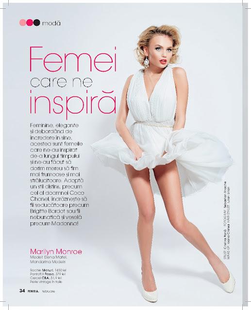 Styling: February issue of Femeia. magazine
